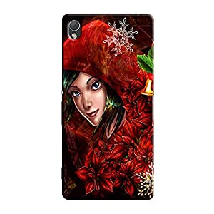 CLOWN GIRL BACK COVER FOR SONY XPERIA Z5
