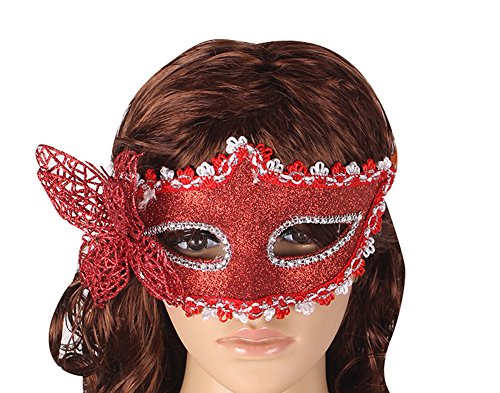 Dreamall Women's Halloween Masquerade Party Exquisite Butterfly Mask