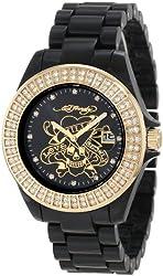 Ed Hardy Women's JO-LK Jolie Black Watch