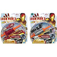 Maven Gifts: Marvel Iron Man 3 Iron Flyers Launcher With Iron Man 3 Iron Flyers War Machine Launcher