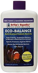 DrTim's Aquatics Eco-Balance Multi-Strained Probiotic Bacteria for Reef and Nano Aquariums, 8-Ounce