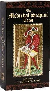 Jeu de cartes - Divinatoires - Médiéval Scapini Tarot