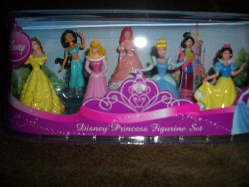Disney Princess 7 Piece Figure Set - 1