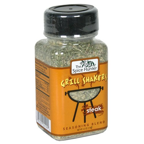 Spice Hunter Grill Shakers Steak, 4.2-Ounces (Pack of 6)
