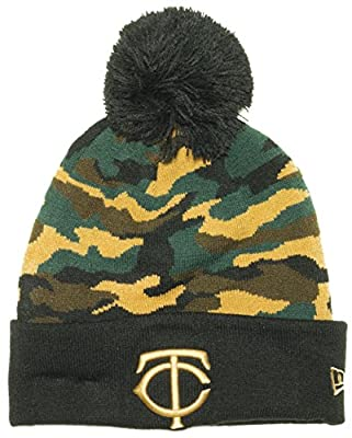 New Era Camo Captivate MLB Beanie Knit