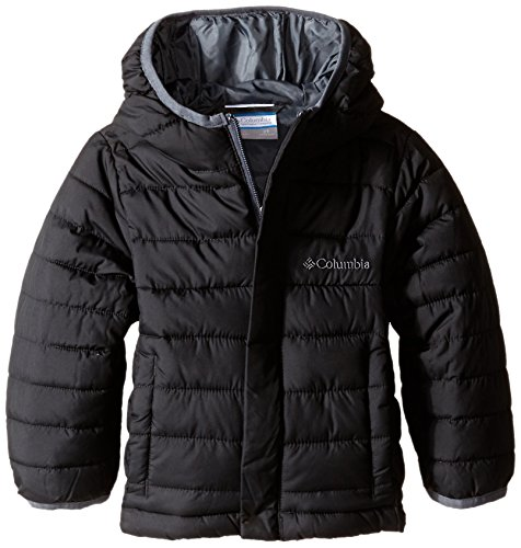 Columbia Little Boys' Powder Lite Puffer Jacket, Black, 2T (Down Jacket Kids compare prices)