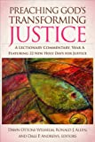 img - for Preaching God's Transforming Justice: A Lectionary Commentary, Year A book / textbook / text book