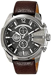Diesel End-of-Season Analog Grey Dial Mens Watch DZ4290