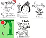 5 Book Set By Shel Silverstein; Runny Babbit; a Light in the Attic; Where the Sidewalk Ends; the Giving Tree; Giraffe and a Half.