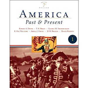 VangoNotes for America: Past and Present, 7/e, Brief, Vol. 1 | [Robert A. Divine]