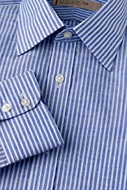 Collezione Cotton Linen Striped Shirt