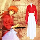 るろうに剣心 緋村剣心 風 コスプレ 衣装 赤 Lサイズ