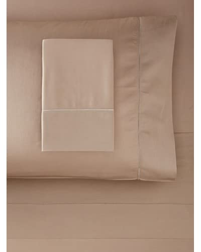 Dea Raso Hemstitch Sheet Set  [Taupe]