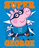 Television Mini Poster featuring Peppa Pig's Super Little Brother George 40x50cm
