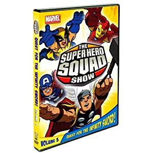 The Super Hero Squad Show: Quest For The Infinity Sword Volume Three movie