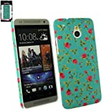 Emartbuy ® HTC One Mini Rose Garden Clip On Protection Case / Cover / Haut