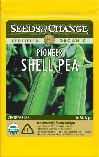Seeds Of Change S11076 Certified Organic Pioneer Shelling Pea