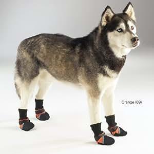 Guardian Gear Oxford Dog Boots, XX-Large, 5-1/2-Inch, Orange