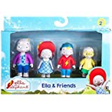 ELLA THE ELEPHANT Ella and Friends Figures (Pack of 4) by Ella the Elephant