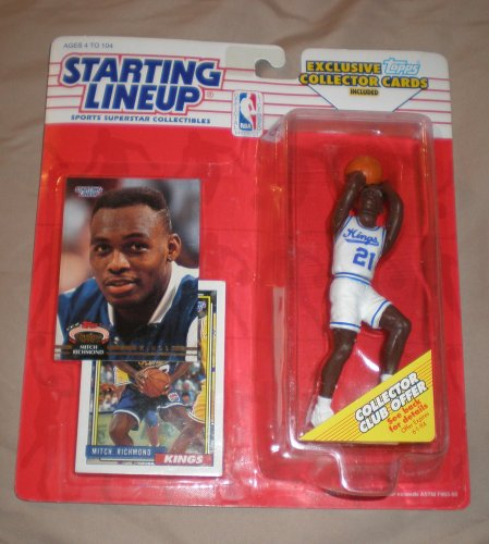 1993 Mitch Richmond NBA Starting Lineup Figure