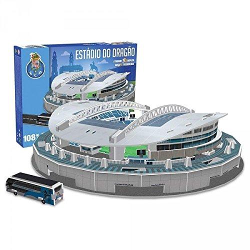 Nanostad(ナノスタッド) FC Porto FCポルト スタジアム(エスタディオ・ド・ドラゴン) 3D パズル