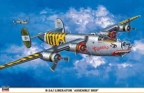 Hasegawa 1:72 B-24J Liberator Assembly Ship