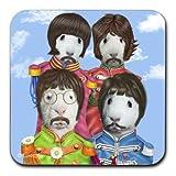 Fab 4 Guinea Pigs Mug Coaster