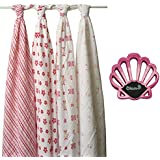 Aden + Anais Bundle - (4) Classic Muslin Swaddle in