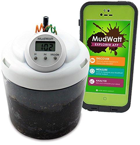 マッドワット 泥からクリーン エネルギー 生物燃料電池キット