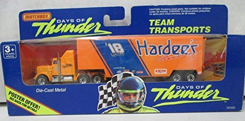 matchbox-days-of-thunder-18-hardees-team-transport-by-matchbox