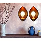 Tiedribbons-Exotic Wall Decore_Tea Light Holder_ Set Of Two_Best Home Decoration For Diwali_Beautiful Gift