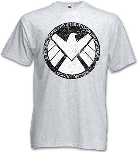 S.H.I.E.L.D. VINTAGE LOGO I T-SHIRT - Nick Marvel SHIELD Fury Hydra Comic Shirt Taglie S - 5XL