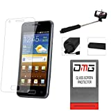 DMG Pack Of 2 Tempered Glass For HTC Desire 826 + Wireless Bluetooth Selfie Stick With Image Zoom