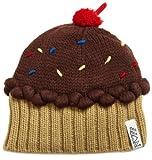 Neff Women's Cupcake Beanie Hat, Chocolate, One Size