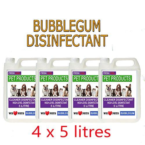 4-x-5-lires-bubblegum-fragrance-pet-kennel-disinfectant-and-deodoriser