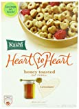 Kashi Heart to Heart Honey Toasted Oat Cereal, 12-Ounce Boxes (Pack of 4)