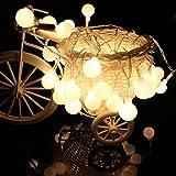 CosyInSofa クリスマスライト LED飾りライト 戸外照明 100灯発光ランプ 照明 パーティー 結婚式 発光イルミネーションライト (100ランプ)