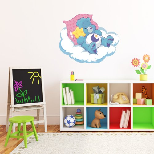 """Care Bears Bedtime Bear Kids Wall Graphic Decal Sticker 22"""" X 28"""" front-1066123"""