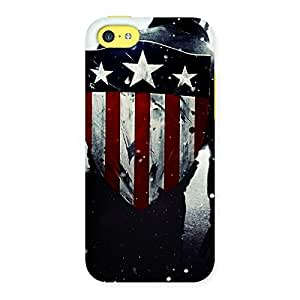 Gorgeous Vintage Shield Multicolor Back Case Cover for iPhone 5C