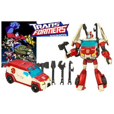 Transformers 83622 Animated Autobot Ratchet Figur Deluxe Class Autobot günstig online kaufen