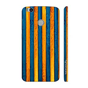 Enthopia Designer Hardshell Case Yellow To Blue Back Cover for Xiaomi Mi 4s
