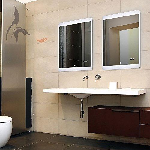Badspiegel-LED-Uhr-Erding-50x70cm-Badezimmerspiegel-mit-Uhr-Energieklasse-A