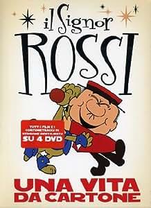 Signor Rossi (Il) - Una Vita Da Cartone (4 Dvd)