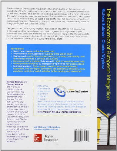 The economics of european integration (Economia e discipline aziendali)