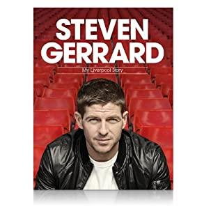Hardback Steven Gerrard - My Liverpool Story - Signed Book from A1 Sporting Memorabilia