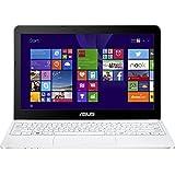 """Asus EeeBook X205TA FD005BS - Portátil de 11.6"""" (Intel atom z3735f, 2 GB de RAM, Disco eMMC 32 GB, Intel HD Graphics, Windows 8.1 actualizable gratuitamente a Windows 10), negro y blanco -Teclado QWERTZ Alemán"""