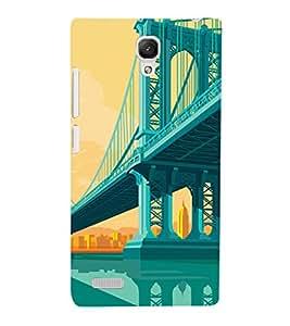 EPICCASE London bridge Mobile Back Case Cover For Xiaomi Redmi Note 4G (Designer Case)