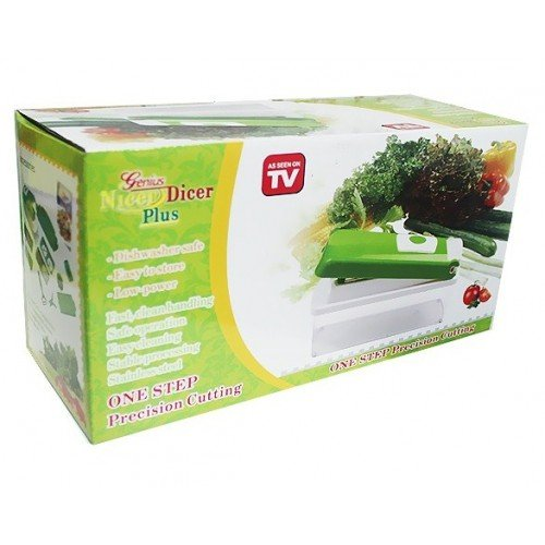 2015 New Nicer Dicer Plus - Vegetable Fruit Peeler Slicer Cutter Chopper As Seen on TV