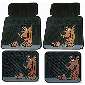 scooby doo car floor mats