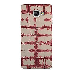 Vintage Brick Wall Back Case Cover for Galaxy A7 2016